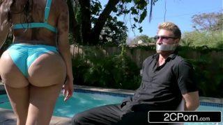 Bubble Butt Kim K Fucking Trapped Paparazzi – Lela Star