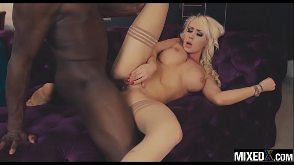 CHRISTINA THE GORGEOUS PETITE BLONDE ONLY HAS EYES FOR BBC
