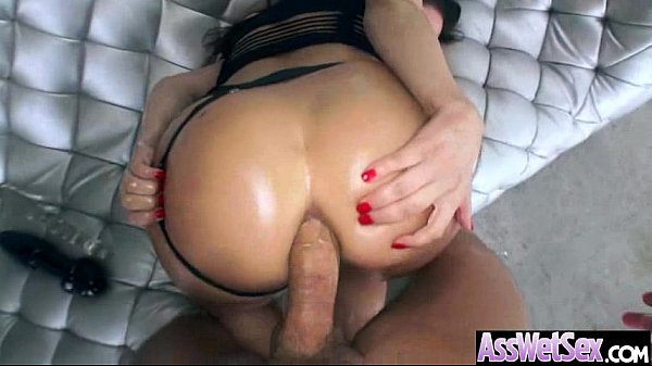 Deep Anal Sex With Big Round Butt Oiled Hot Girl (aleksa nicole) video-04