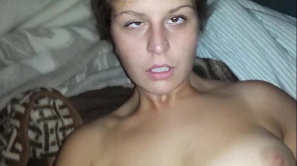 Eye Rolling Squirt Orgasm Before She Gets Covered With Cum
