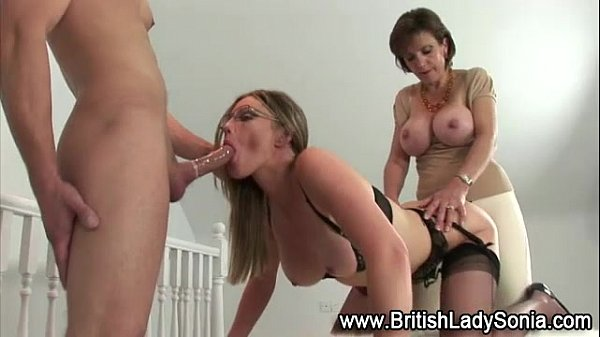 Fetish stockings british bitch gets fucked