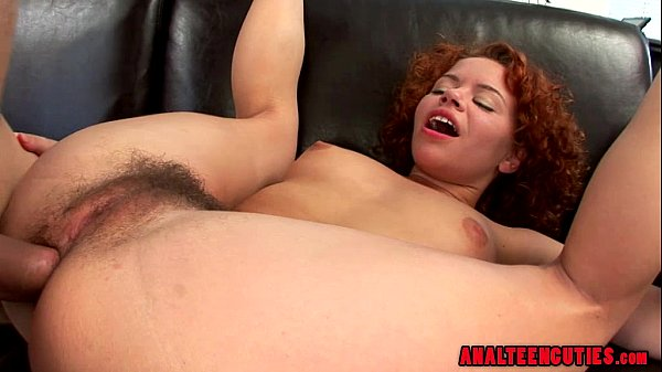 Hairy Teen Loves Anal Fuck