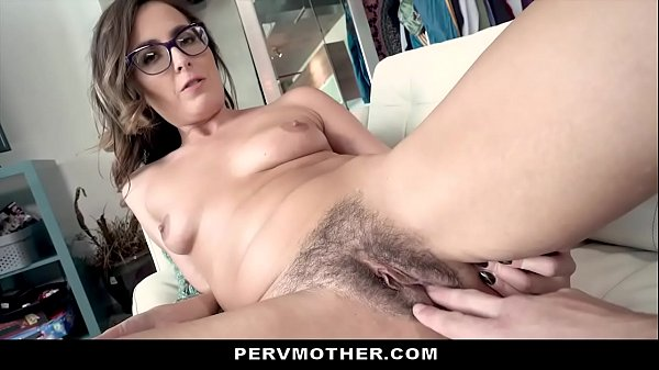 Helpful Stepmom Lets Son Fuck & Cream Her Hairy Pussy