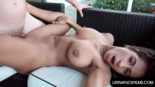 Latina Begs for Cum on her Face and Tits