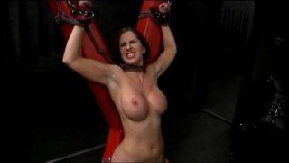 Metalhead force Natali demore to cum bdsm slave milf redhead