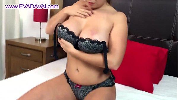 Pussy Contracting & Squirting! Eva Davai Hitachi