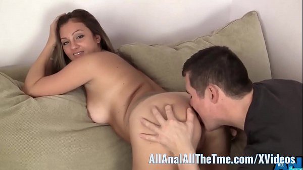 Russian Amateur Spreads Ass to Get Licked only at AllAnal!