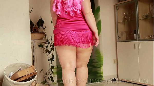 Sarah Big Butt dressed in pink