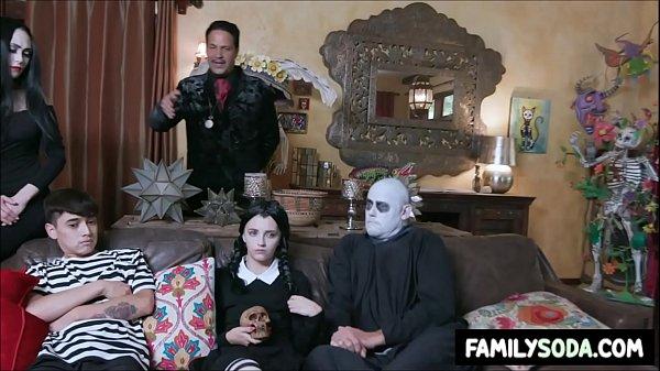 Adams Family orgy