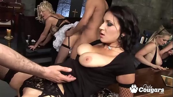 An Insane Orgy Breaks Out At A Funeral