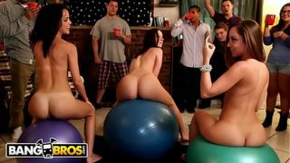 BANGBROS – Jada Stevens, Remy LaCroix & Dillion Harper Dorm Room Orgy