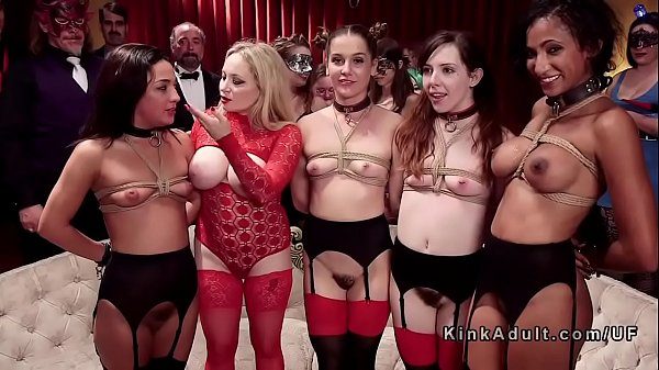 Bdsm orgy party with hard fucking