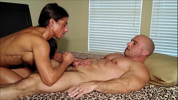 Belly worship ends in cum swallow