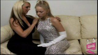 Brea Bennett and Emilianna Hot Lesbian Fingerfuck