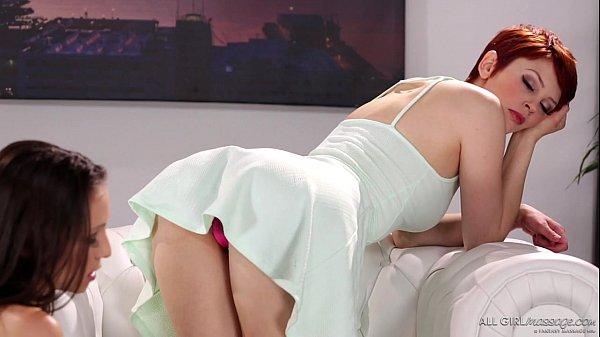 Bree Daniels does foot massage on Celeste Star – Fantasy Massage