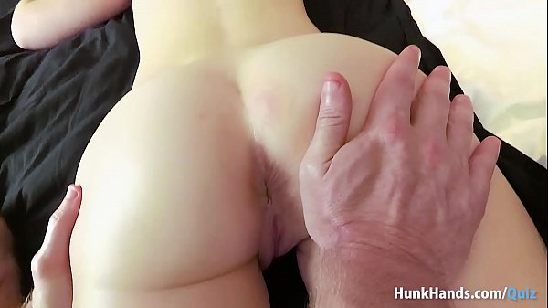 Bubble butt British babe squirts ALL over the hotel bed in real massage! Amateur POV!