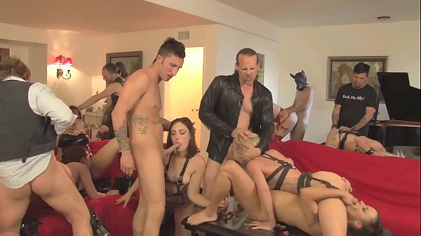 Damsels in Distress Party Orgy Clips