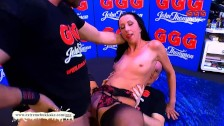 Double penetration Warm-up with Stella Star