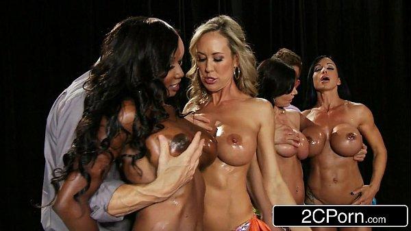 Fitness Contest Orgy – Brandi Love, Diamond Jackson, Kendra Lust, Jewels Jade