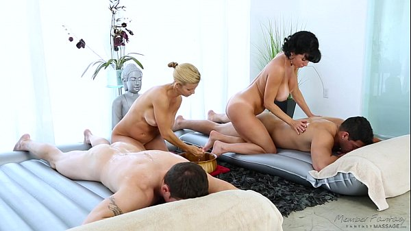 Foursome Massage – Veronica Avluv, Alexis Fawx