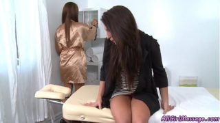 Haley Sweet & Giselle Leon (My First Massage) (2012)