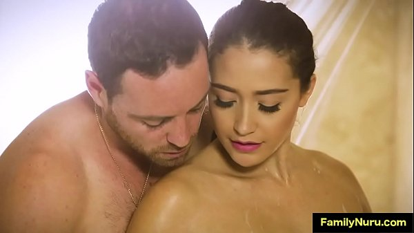 Hot brunette just want to get fucked during massage