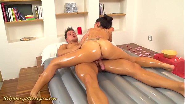 hot flexible slippery nuru massage gymnastic