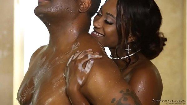 Hot nuru massage with a booty ebony – Skyler Nicole, Tyler Knight