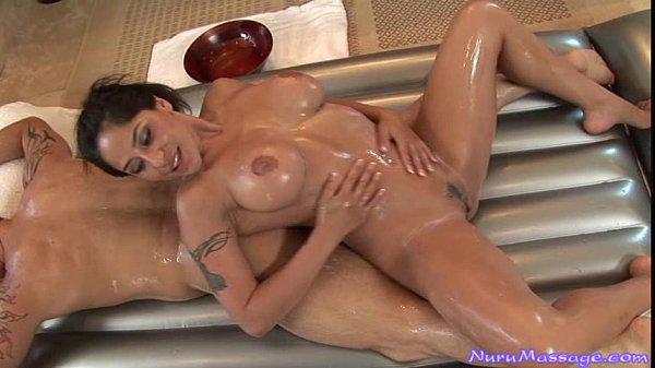 Jenaveve Jolie Gives a Nuru Massage