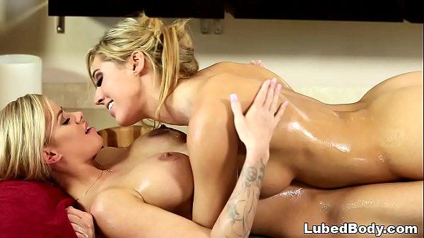 Jessa Rhodes enjoys lesbian nuru massage feat Val Dodds