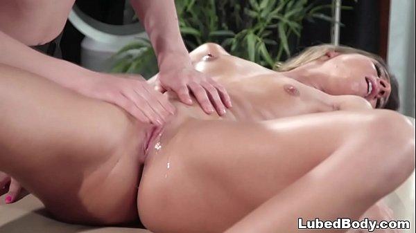 Lesbian massage with Kasey Warner and Tara Ashley