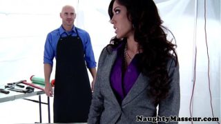 Massaged Capri Cavanni pounded roughly