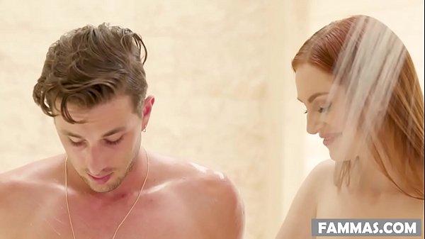 My Sister-in-law massaging me! – Maya Kendrick – Family Sex Massage