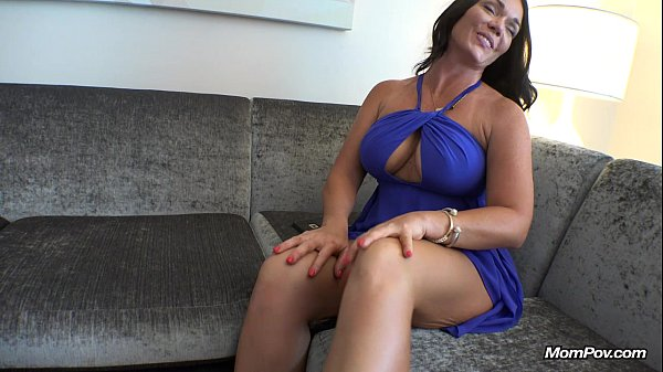 Sexy Big Boobs MILF Swallows Young Cock in Stairwell