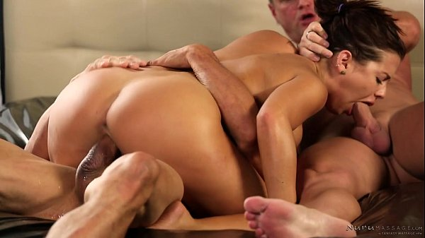 Stepdad and uncle got invited by Keisha Grey – Fantasy Massage