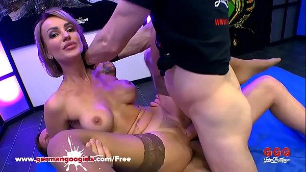 Super Hot Babe Elen Million Double Penetrated by Monster Cocks – German Goo Girls