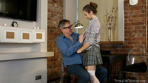 Tricky Old Teacher – Nastya's plan of flirting