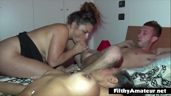 Two wives in a real orgy. Anal, DP and an arm in pussy