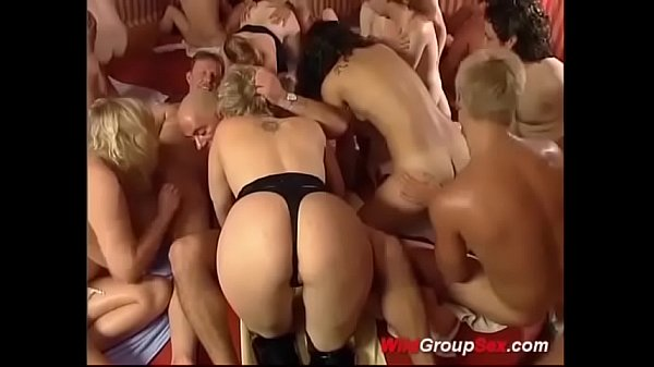 wild german amateur swinger orgy