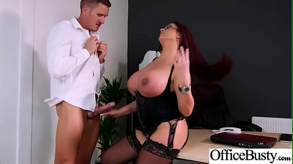 Bang On Cam In Office With Bigtits Girl (Emma Butt) video-09