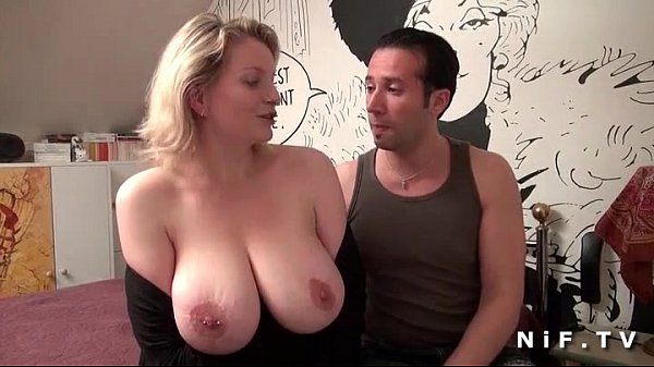 Big boobed french milf ass fucked
