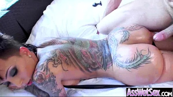 Big Butt Girl (bella bellz) Get Oiled And Anal Hardcore Nailed clip-05