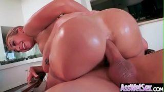 Big Butt Oiled Girl (Kat Dior) Love Hard Anal Sex mov-19