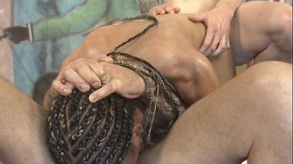 Black Ghetto Whore Cree Morena Roughly Deep Throating