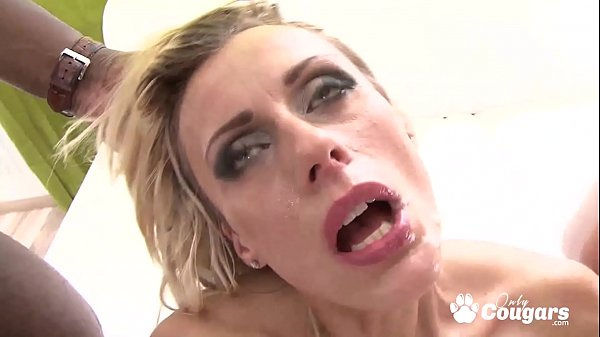 Brittany Puts Three Big Dicks Inside Her At The Same Time