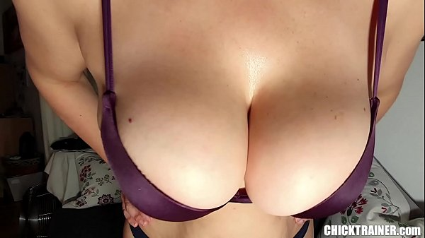 Busty Britney's Quickie Cum on Tits! Big Boobs Rodeo & Homemade Tittyfucking. Homemade Hanging Udders BJ and Cowgirl Style Pussy Fucking