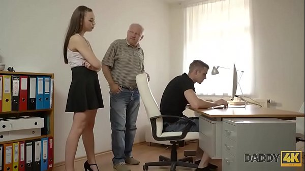DADDY4K. Teen petite Ornella tastes dick of her boyfriends father