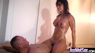 Girl (franceska jaimes) With Big Oiled Curvy Ass Get Anal mov-12
