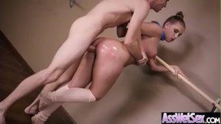 (Harley Jade) Big Oiled Ass Girl Enjoy Deep Anal Intercorse clip-18