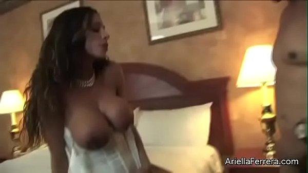 Hot Big Boobs Pornstar Ariella Ferrera Fuck a Fan